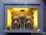 Mahar uang masjid 5 kubah + lampu