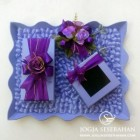 Tempat Uang + Perhiasan nuansa ungu