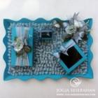 Set Lengkap nuansa biru silver