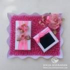 Tempat uang + perhiasan nuansa pink putih